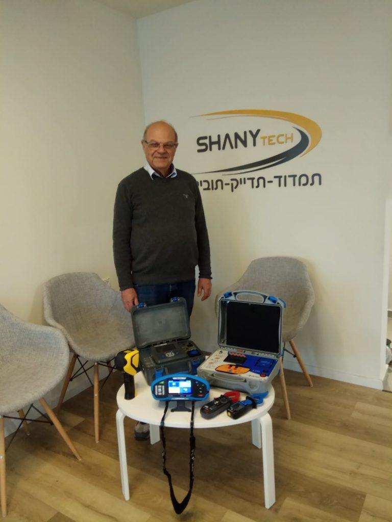 מכשירי מדידה לבדיקות חשמל - אלי שטיינברג