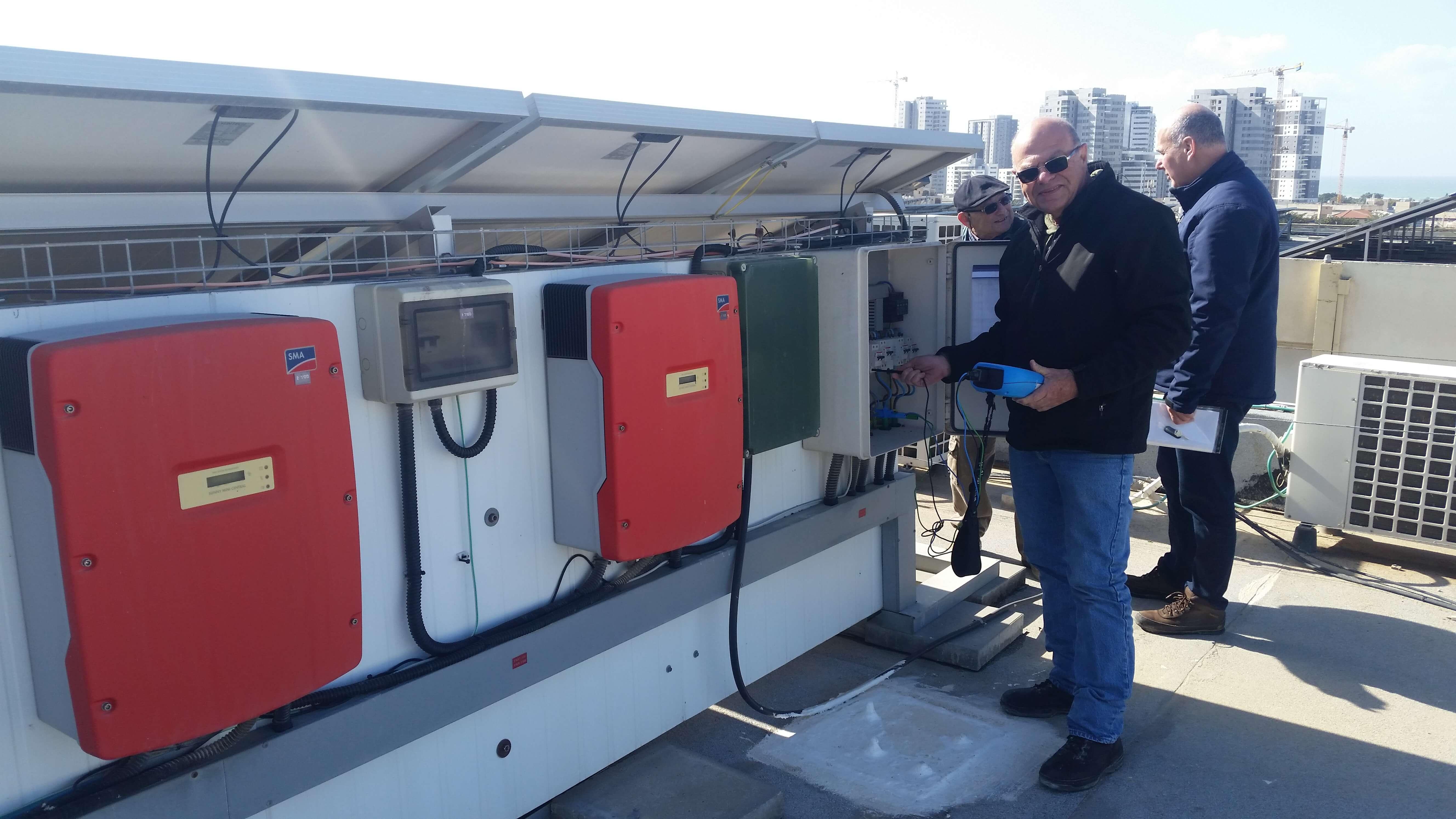 בדיקות חשמל פוטו סולאריות - אלי שטיינברג